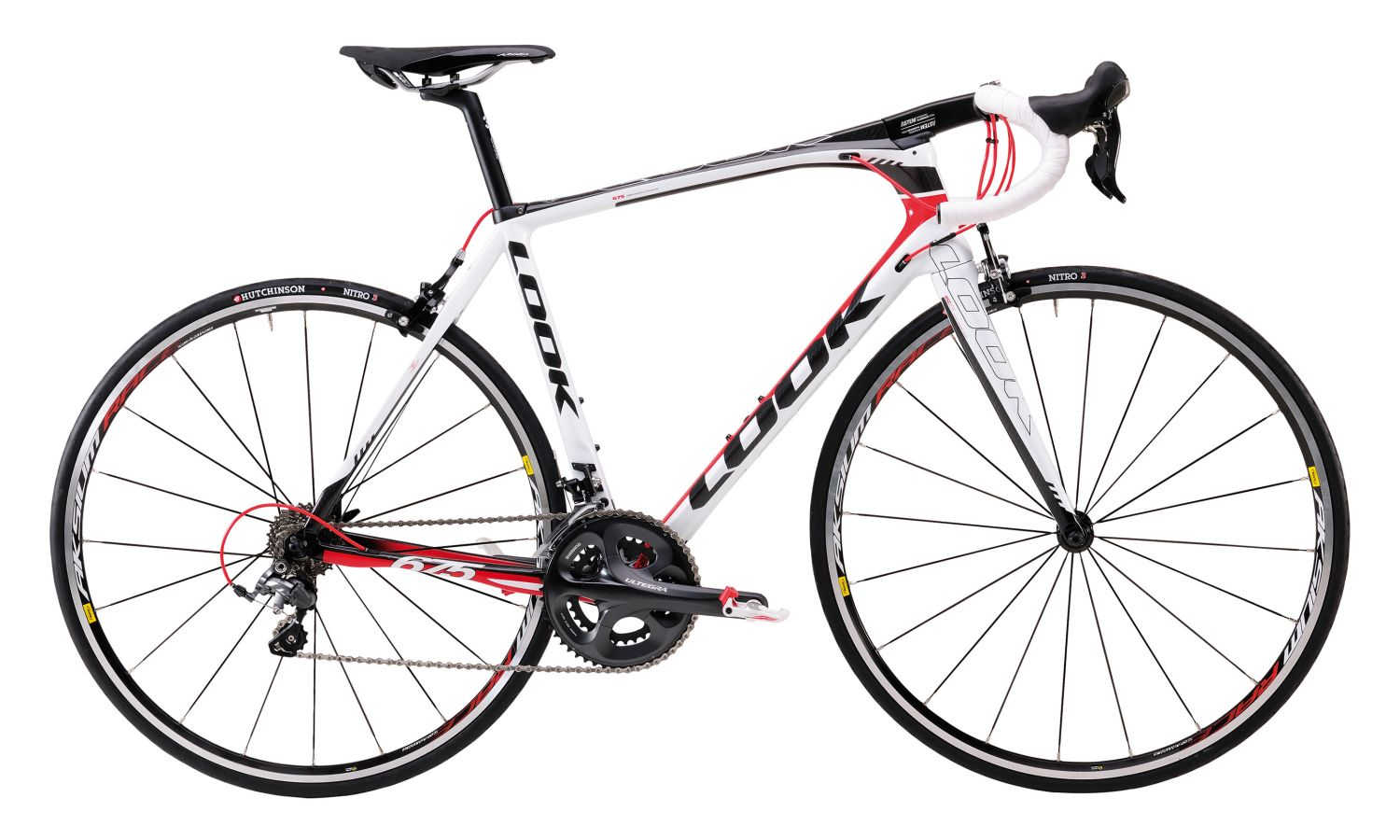 promotion sur LOOK 675 2014 ULTEGRA mix  triple 3x10v ultegra